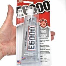 E6000 Industrial Strength Permanent Bond Adhesive Crafting Glue 3.7 oz. Tube