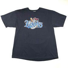 Corpus Christi Hooks Mens XL Navy Blue T Tee Shirt Logo 2007 Minor League New