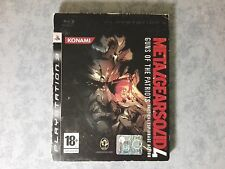 METAL GEAR SOLID 4 GUNS OF THE PATRIOTS CARTONATO SONY PS3 PAL ITALIANO COMPLETO
