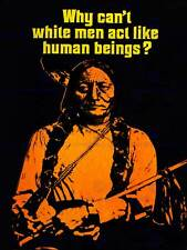 PROPAGANDA CIVIL RIGHTS WOUNDED KNEE NATIVE AMERICAN ART PRINT POSTER CC1674