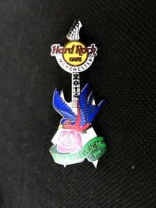 Hard Rock Cafe MANCHESTER 2014 TATTOO SERIES 'Save The Planet' Pin Badge LE200
