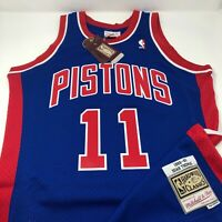 New Isiah Thomas Detroit Pistons 1988 - 89 Mitchell & Ness Swingman Jersey XL