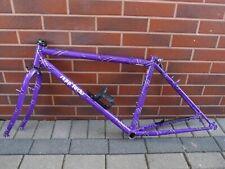"""SEPP FUCHS 17"""" MTB bike frame Germany tubes CrMo TANGE, Spinner fork, Deore XT"""