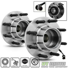 Pair (2) Front Wheel Hub Bearing For 2000-2004 Ford F250 F350 SD SRW 4WD w/ABS