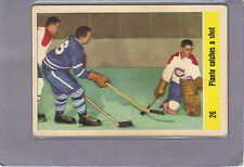 1958-59 PARKHURST #26 JACQUES PLANTE IN ACTION MONTREAL CANADIANS