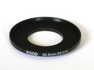 STEP UP ADAPTER 30.5MM-52MM STEPPING RING 30.5MM TO 52MM 30.5-52 FILTER ADAPTER
