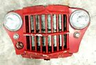 WILLYS JEEP 1962 WAGON TRUCK FRONT END GRILLE, WITH LIGHTS, NICE