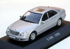 Mercedes S-CLASS S 500 - Model W220 Year 1998-2002, M.1 : 43, Silver Metallic