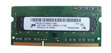 4Go RAM PC Portable 1600MHz DDR3 SODIMM Micron MT8KTF51264HZ-1G6E1 PC3L-12800S