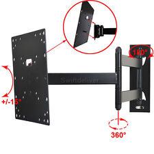 """Tilt Swivel LED LCD TV Wall Mount for Samsung VIZIO 24 28 29 32 39 40 42 43"""" W2K"""