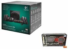 PACK LOGITECH Z906 + SOUND BLASTER ZXR - BRAND NEW SEALED