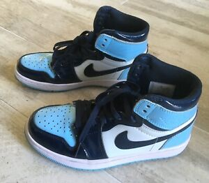"NIKE AIR JORDAN 1 HIGH "" BLUE CHILL "" - EUR 38 - UK 4,5 - US 7"