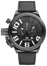 Danish Design IQ14Q917 50mm Chronograph Stainless Steel Leather Men's Watch