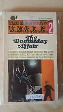 """Vintage Books - The Man From U.N.C.L.E. #2 -  """"The Doomsday Affair"""" 1st Printing"""