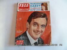 TELE MAGAZINE N°403 06/07/1963 DOMINIQUE PATUREL LEON ZITRONE     I69