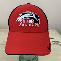 SIUE COUGARS - NIKE Legacy91 DriFit Red Stretch Fit 1-Size NCAA Illinois Hat Cap