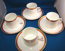 Mikasa Coffee Cups Tea Cups & Saucers Bone China Cabernet 165 8 piece set @9B