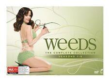 "Weeds complete season series 1, 2, 3, 4, 5, 6, 7 & 8 DVD Box Set R4 ""sale"""