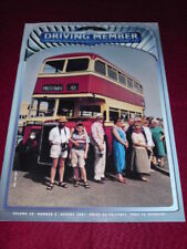THE DRIVING MEMBER - Aug 2001 Vol 38 # 3