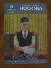 DAVID HOCKNEY: ORIGINAL DULWICH PICTURE GALLERY EXHIBITION POSTER