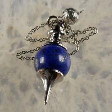 Pendule de radiesthésie type Sphéroton en Lapis Lazuli