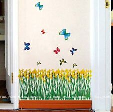 Flower Wall Paper Art Mural Sticker Buy1Get1 Free