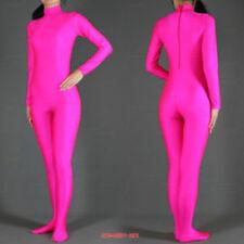 H@T PINK Zentai Lycra Catsuit full boby catsuit S-XXL