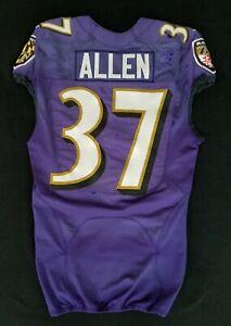 #37 Javorius Allen of Ravens NFL Practice Worn Jersey - BR 1810