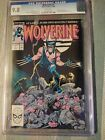 WOLVERINE 1 CGC 9.8 MONTHLY SERIES FIRST PATCH X-MEN PIN UP BYRNE CLAREMONT 1988