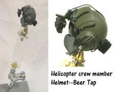1/6 scale Helicopter crew member helmet as beer tap