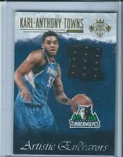 2016-17 Court Kings Artistic Endeavors KARL ANTHONY TOWNS Jersey /149