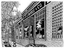 Doyle's Cafe Boston Drawing 8.5x11