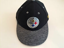 Hat Pittsburgh Steelers New Era Gray 2016 NFL Draft Low Profile 59Fifty 7 1/8