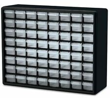 Small Parts Storage Cabinet 64 Compartment Drawer Plastic Organizer Arts Crafts