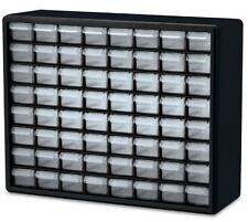 Small Parts Storage Cabinet 64 Compartment Drawer Plastic Organizer Arts Crafts