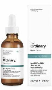 BNIB The Ordinary Multi-Peptide Serum for Hair Density - 60ml Proven Results