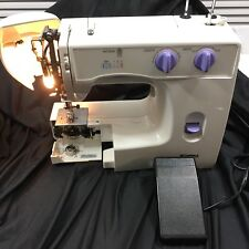 Sears Kenmore Model 385.15202400 Sewing Machine + Foot Pedal Works Parts