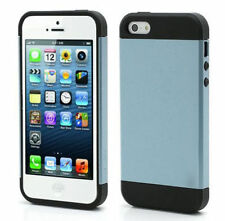 Ultra Slim Armor 2-Piece Hybrid Shock Proof Case Cover for Apple iPhone 4/4S