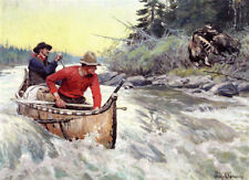 An Interrupted Duel  by Philip Goodwin  Giclee Canvas Print Repro