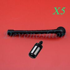 5SETS Gas Fuel Pipe Line Hose Tube Pick Body Filter For Sithl 020 1114 358 7700