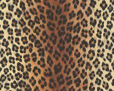 Tapete Leopard Leo-Optik orange schwarz AS Creation 6630-16 Dekora Natur 6 (2,43