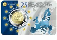 2 Euros Bélgica 🇧🇪 2019 en coincard. Instituto monetario . Envío YA.