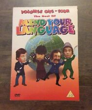 MIND YOUR LANGUAGE - The Best Of Mind Your Language (DVD, 2003, 4-Disc Set) RARE