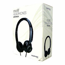 Brand New Holysmoke Motif On Ear Headphones Solid Black - Don't Pay $49