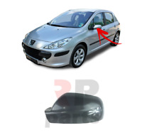 FOR PEUGEOT 307 2001 - 2007 NEW WING MIRROR COVER CAP FOR PAINTING LEFT N/S