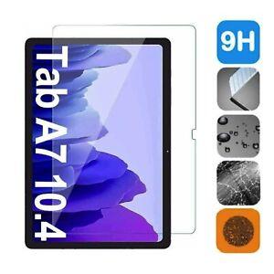 Samsung Galaxy Tab A7 2020 10.4 Panzerfolie Echtglas Display-Schutz Hartglas 9H