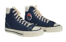 CONVERSE The Winner Vintage High Top Sneakers Navy Made In USA 1970s Size 8