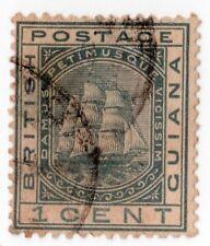 British Guiana  72 1¢ Slate  WM Crown CC