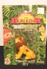 DISNEY LION KING ADULT SIMBA FIGURE TOY CARDED MATTEL ARCOTOYS  1990'S