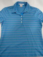 Womens Nike Golf Dri-Fit Blue Shirt size M